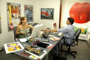 Episódio 2 - Laura e Caíque no escritório